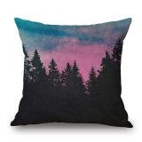 Les paysages forestiers Housse de coussin décoratif pour canapé sans farce (35C0205)
