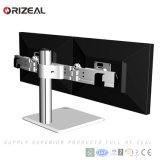 """Venda a quente autoportante 24"""" LCD do Braço Ajustável Duplo, Suporte de Montagem de Monitor Duplo braço (OZ-OMM014B)"""