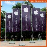 Flagpoles commerciali di bandierina di 3.8m del basamento esterno del palo, bandierina di spiaggia