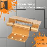 La cerniera di alluminio dorata per il portello & la finestra