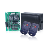 Ricevente universale con la radiotrasmittente del portello del garage dei 2 canali ed il kit della ricevente