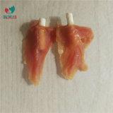 Material natural popular mascota comida de pollo con palitos de grano