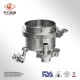 Aço inoxidável 304/de encaixe sanitário da virola do aço inoxidável de 316L Triclamp