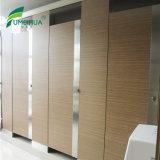 Compartimento branco do toalete da resistência térmica da cor com acessórios de nylon