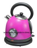 Caldaia elettrica lucida viola dell'acciaio inossidabile dell'elettrodomestico di alta qualità dell'interruttore Wt3018n2t