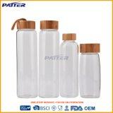 Bottiglia di acqua personalizzata radura promozionale 2017 di vetro bevente del regalo di prezzi di fabbrica