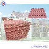 Камня конструкции сопротивления ветра плитка крыши Milano металла легкого Coated