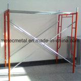Marco del andamio del metal para el andamio tubular del marco de la construcción