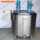 Type carré sanitaire réservoir émulsionnant pour le lait