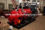 Cas de fractionnement horizontale Tpow pompe incendie à moteur diesel