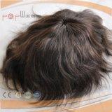 브라질 머리 암갈색 많은 남자의 가발 (PPG-l-01505)