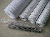 PP/algodón/fibra de vidrio de la Herida de cadena cartucho de filtro de agua