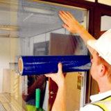 Película de la protección del PE para la superficie del vidrio de ventana