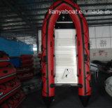Crogioli di gomma di battello pneumatico del PVC di Liya 3.8-6.5m da vendere
