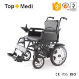 医療機器の障害があるのためのFoldable 4つの車輪駆動機構の電動車椅子