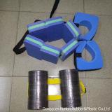 Schaumgummi-Schwimmen-Gleitbetriebs-Riemen mit einzelnem gewebtem Material