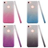 Два тона Smokey Блестящие цветные лаки Гибридный чехол для iPhone 8