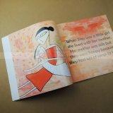 La couverture d'encre livre lourd de l'impression Impression de livres de peinture