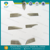 Lâmina do carboneto de tungstênio para o couro e a matéria têxtil da estaca