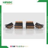 La anidación de promoción de madera MDF de escritorio para la tienda de ropa