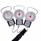 Fisch-Schuppe mit messendem Band-Gepäck wiegen