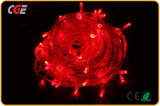 Luzes vermelhas da corda do diodo emissor de luz da luz de tira da decoração do diodo emissor de luz para preço da luz do feriado o baixo