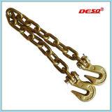 Оцинкованный легированная сталь для скрепления клеем нагрузки цепи с крюками