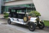 De antieke 48V Elektrische Auto's met 4 wielen van het Passagiersvervoer van het Sightseeing
