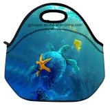 Portable sac à lunch en toile avec isolation thermique des sacs de nourriture déjeuner pique-nique