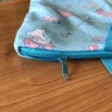 새로운 디자인 인쇄 폴리에스테 복숭아 피부 끈달린 가방
