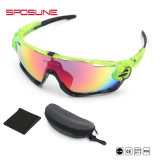 Os óculos de sol marcam seus próprios vidros de condução dos óculos de proteção dos esportes de Eyewear