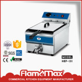 1 cesta do tanque 1 na frigideira elétrica da microplaqueta de China da venda (HEF-81)