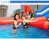 Giocattoli di galleggiamento della sosta gonfiabile commerciale dell'acqua di vendita della fabbrica