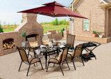 屋外/庭/テラスの藤のTexileneの布の椅子HS2010c