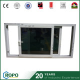 PVC Windows coulissant horizontal de qualité d'image de guichet d'UPVC