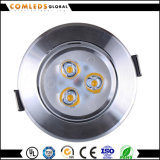 CRI>70 70lm/W LED Panel Downlight mit Cer u. RoHS