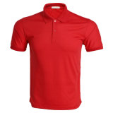 Le fabricant a fait des hommes de la haute qualité de la publicité ordinaire Polo shirts avec logo du client