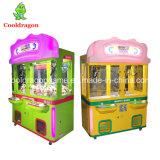 새로운 견면 벨벳 장난감 기중기 기계 오락 인형 기중기는 장난감 자동 판매기를 기계로 가공한다