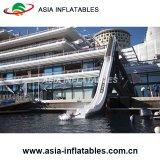 Diapositiva inflable del Aqua del yate, diapositiva inflable de encargo del yate de Guangzhou