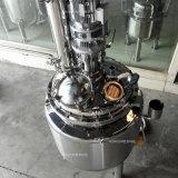 Aço inoxidável Alambique depósito de mistura de aquecimento eléctrico para a destilação do vinho