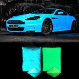 Pó de fósforo revestimento em pó brilhante pigmento fotoluminescente luminoso