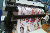 Eco 경제 조밀한 용해력이 있는 인쇄 기계 Epson 단 하나 Printhead에 1.6m