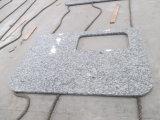 Countertop Van uitstekende kwaliteit van het Wit van de golf/van het Graniet van China