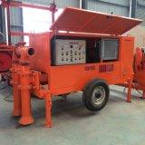 Bloc concret de mousse moulant la pompe concrète hydraulique