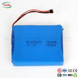 Pacchetto della batteria ricaricabile dello Li-ione di Pl355057 1000mAh 11.1V