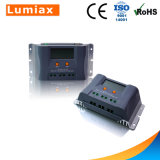 Controlador solar 20A 30A 40A LCD 12V 24V da carga do sistema Home de PWM