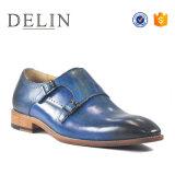 Los mejores precios zapatos formales para los hombres zapatos de cuero auténtico