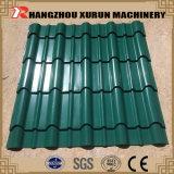 La toiture en acier lambrisse des tuiles de toiture de feuille de toiture