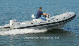 Bateau de pêche ouvert de bateau de côte de bateau de Main-Controled de bateau d'étage de Liya