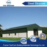 Professional la fabricación de paneles sándwich dealmacén de la estructura de acero para casas prefabricadas en venta